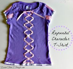 Easier Than I Thought: Rapunzel Character T-Shirt