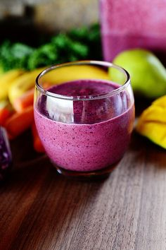 Purple Resolution Smoothie