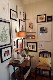 Gallery Wall: Decorating a Corner