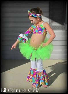 Glitz Disco Pageant Casual Wear / Groovy Wear / by LilCoutureCutie
