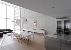 light gray interior