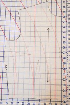 Pattern grading tutorial