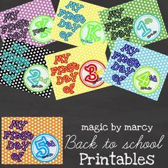 printabl sign, kid idea, free printableschecklist, corner, schools, school printabl, first day, kiddo idea, back to school