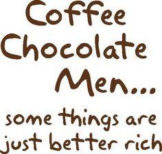 Chocolate men......