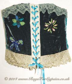 Tsaria corset - fairy/gypsy