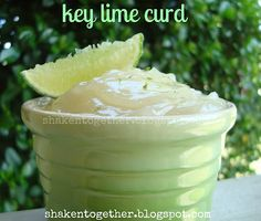 {taste this} key lime curd for a pretty homemade gift