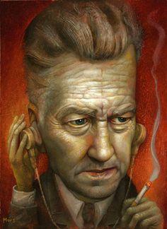 """Bureau Chief Gordon Cole"" by Chris Mars"