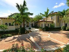 Italian mansion, Palm Beach Gardens, Florida
