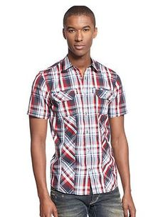 Get to class in style in INC International Concepts Short Sleeve Hoult Shirt on sale for $19.99, plus get 4 SB for every dollar spent (more that 4%) on all your back to school fashion at Macy's