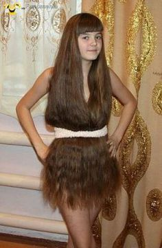 real fun - Some people never go crazy #hair #dress #wearing #girl #naked - Funomenia