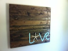Coastal Wall Decor on Etsy, $100.00. Who the heck would pay $100 for this? You could make it for ~$5-10