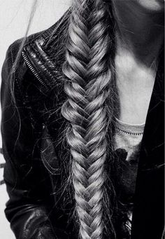 Your best accessory...your hair:)