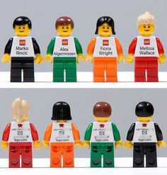 Employees at LEGO give out mini-figures instead of business cards.  I want to work for LEGO... #autism #aspergers #LEGO