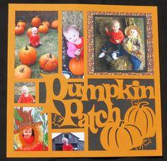Pumpkin Patch - Scrapbook.com