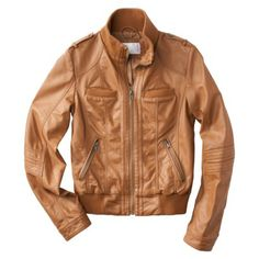 Target $39.99 leather bomber, birthdays, target, camels, fall jackets, bomber jackets, leather jackets, shopping lists