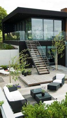 Modern Beach House with Minimalist Interior Design, Sweden