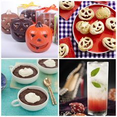 #Halloween-Inspired #Recipes from @Catherine McCord , @Ingrid Taylor Hoffmann , @Jackie Lealess Torres , Nadia G and @Andrew Mager Zimmern