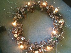 Hoola hoop chandelier