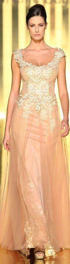 Mireille Dagher 2013 haute couture #formal #dress