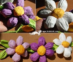 Paper Wire SPRING FLOWERS