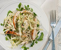 Phase 2 breakfast isn't just egg whites. This light, sweet Citrus Fennel Slaw with Chicken happens to be perfect for any Phase 2 meal! Get the recipe from our newsletter.