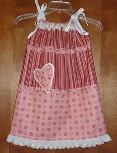 Pieces of Love Pillowcase Dress!!