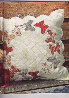almofada borboletas