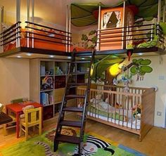 Cool bed room of kids
