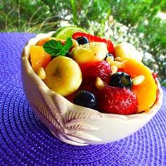 """Honey Lime Fruit Salad 