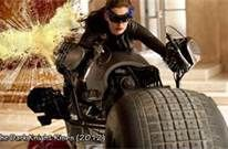 Darknight rises. the scene of cat women on the motorcycle was filmed well!