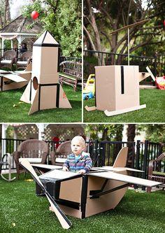 Cardboard box inspiration