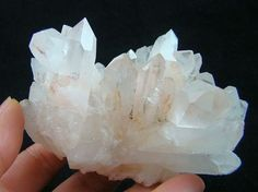 """Clear Quartz is known as the """"master healer"""" and will amplify energy and thought, as well as the effect of other crystals.  It absorbs, stores, releases and regulates energy.  Clear Quartz draws off negative energy of all kinds, neutralising background radiation, including electromagnetic smog or petrochemical emanations.  It balances and revitalises the physical, mental, emotional and spiritual planes :::::This has always been my """"go to"""" crystal  Wear it constantly"""