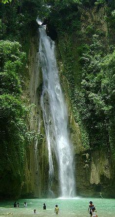 A tropical delight ~ Mantayupan Falls in Cebu, Philippines • photo: -Glench- on Flickr