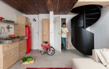 Exemplary Interior: How to Make 380 Sq Ft Feel Spacious