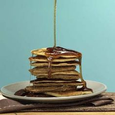 Healthy Quick and Easy Gluten-Free Diabetic Friendly Banana Pancakes - Recipe