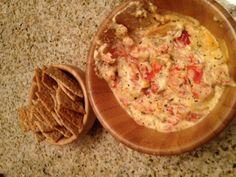 Hot & Cheesy Bruschetta Dip