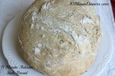 My kids are HUGE bread lovers and it doesn't get better than a homemade bread recipe that whips up in five minutes!
