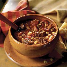 Slow cooker Texas Stew