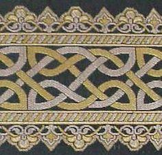 Celtic Knot Brocade Trim