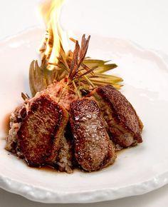 Rosemary Skewered Lamb Loin  -         #easy #gluten #free #dinner #recipes