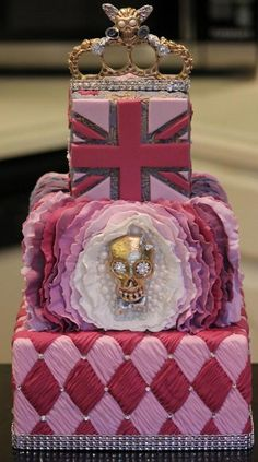 A cake fit for McQueen by Joshua John Russell on Craftsy.com