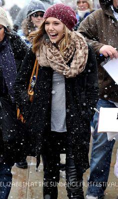 Elizabeth Olsen @ Sundance Film Festival