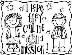 Super Cute LDS Coloring Pages! call, missionari mormonfavorit, fhe, churchi idea, lds illustr, melonheadz lds, coloring, printabl, primari