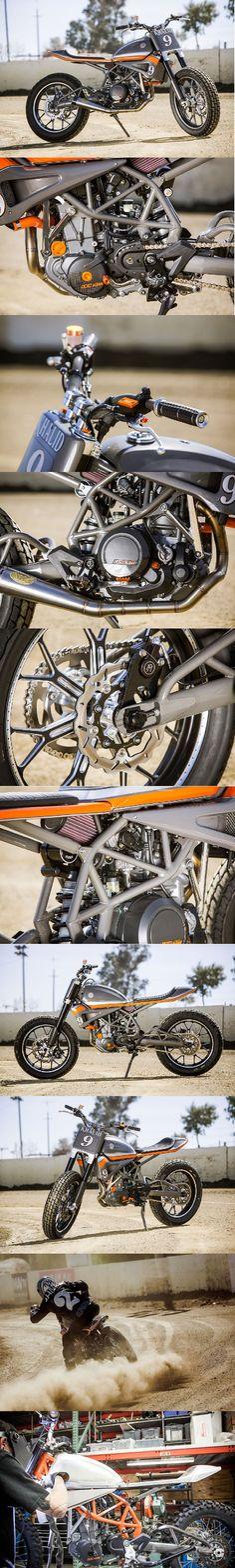 RSD KTM 690 Tracker (Click for more info)  #RSD #rolandsands #flattrack #knfilters