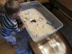 DIY Magnetic Sand Table - So Easy!