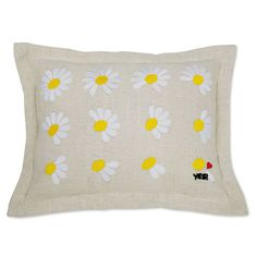 HE LOVES ME PILLOWS | Decorative Flower Cushion | UncommonGoods