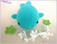 Whale Amigurumi - Free Russian Crochet Pattern