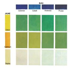 Palettes et m langes de couleurs on pinterest 251 pins - Melange de couleur pour obtenir du beige ...