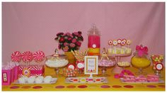 table decorations, party dresses, sweet tables, birthday parties, candi, summer desserts, birthday idea, favor, kid birthdays