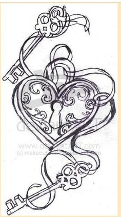 Next tattoo ... my two daughters hold the key to my heart